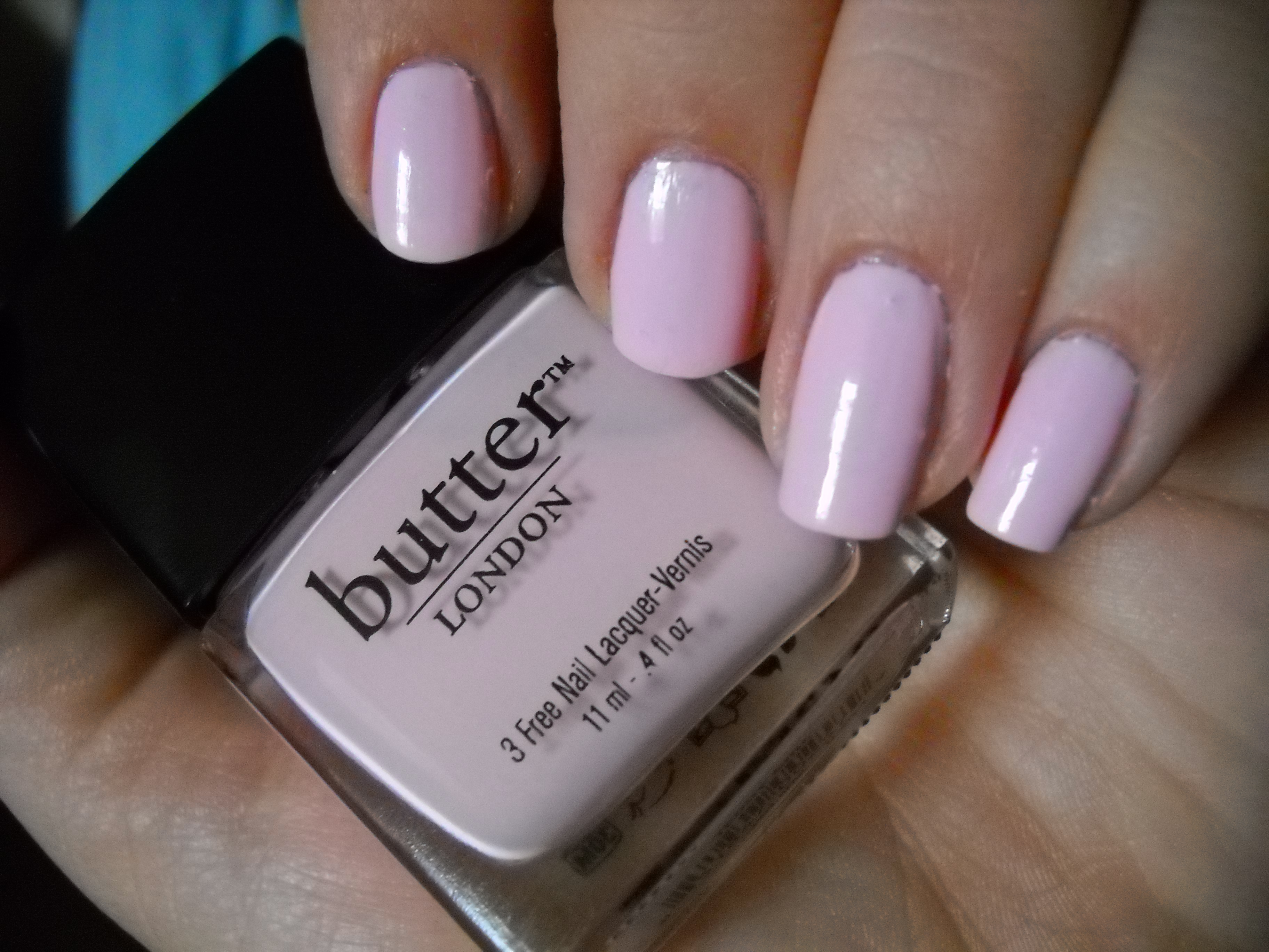 "NOTD! Butter London ""Teddy Girl"""