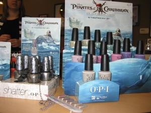 Pirate Polish Display