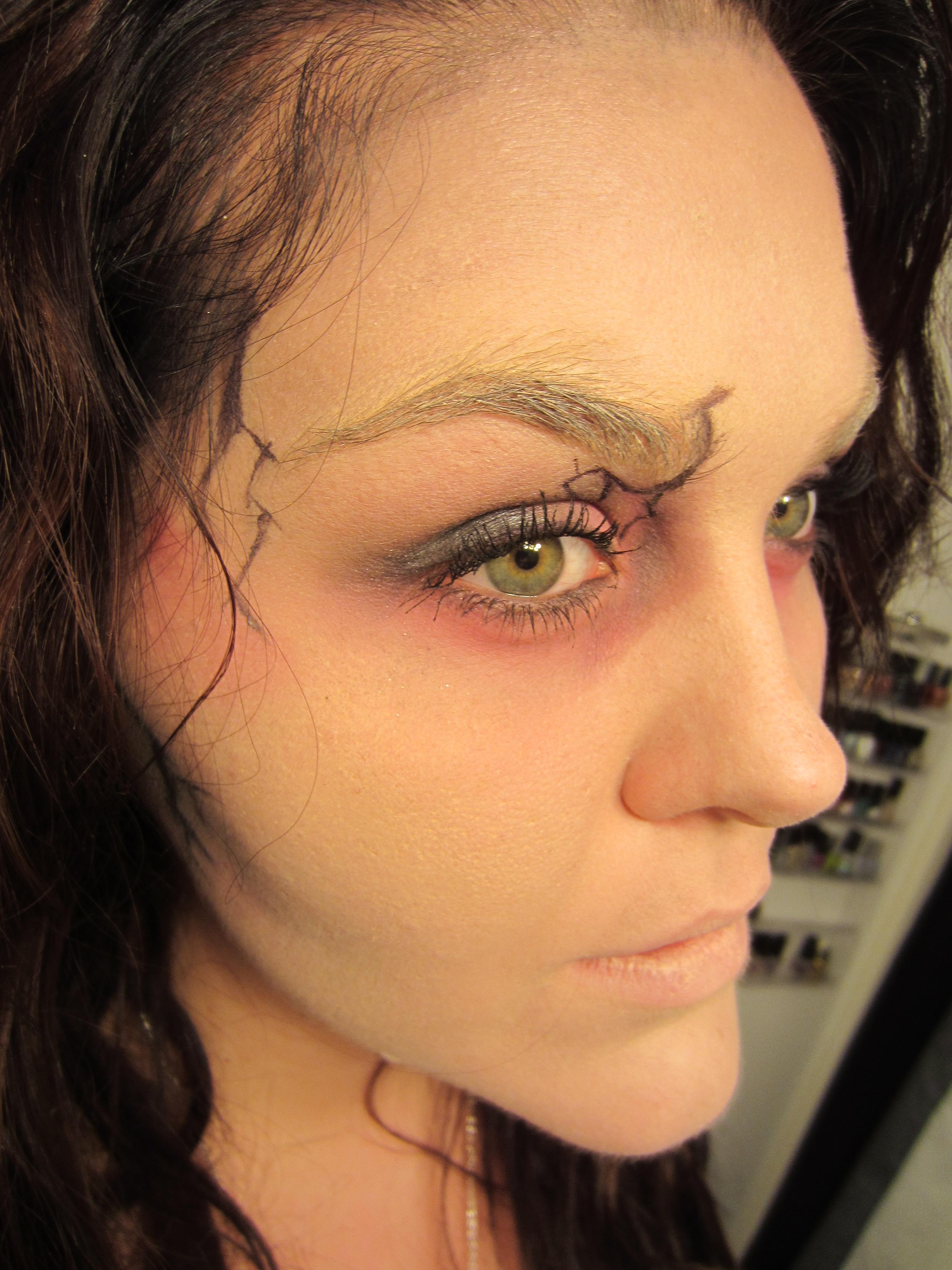 Zombie Halloween Makeup! | misshollyberries