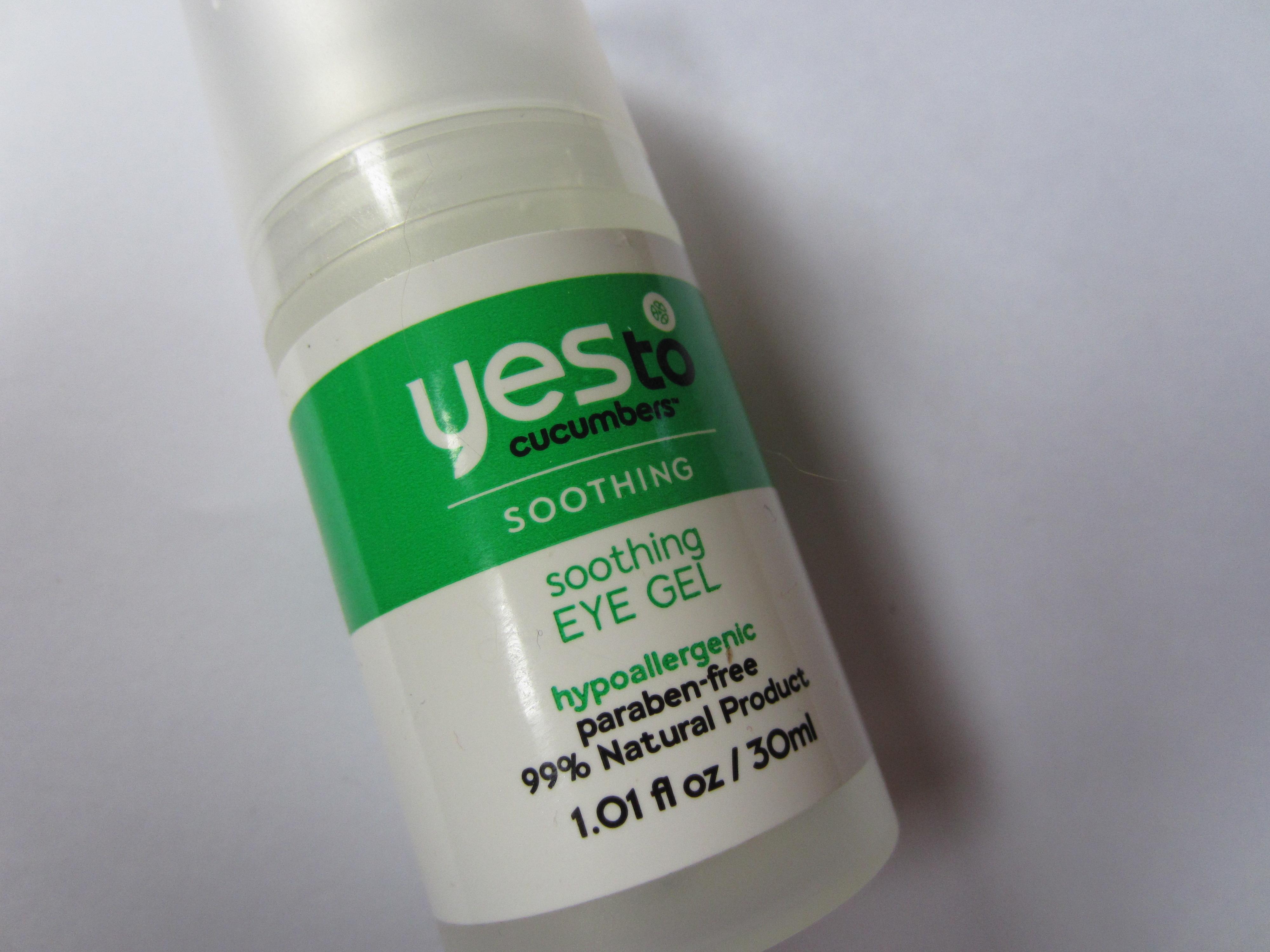 Yes to eye gel