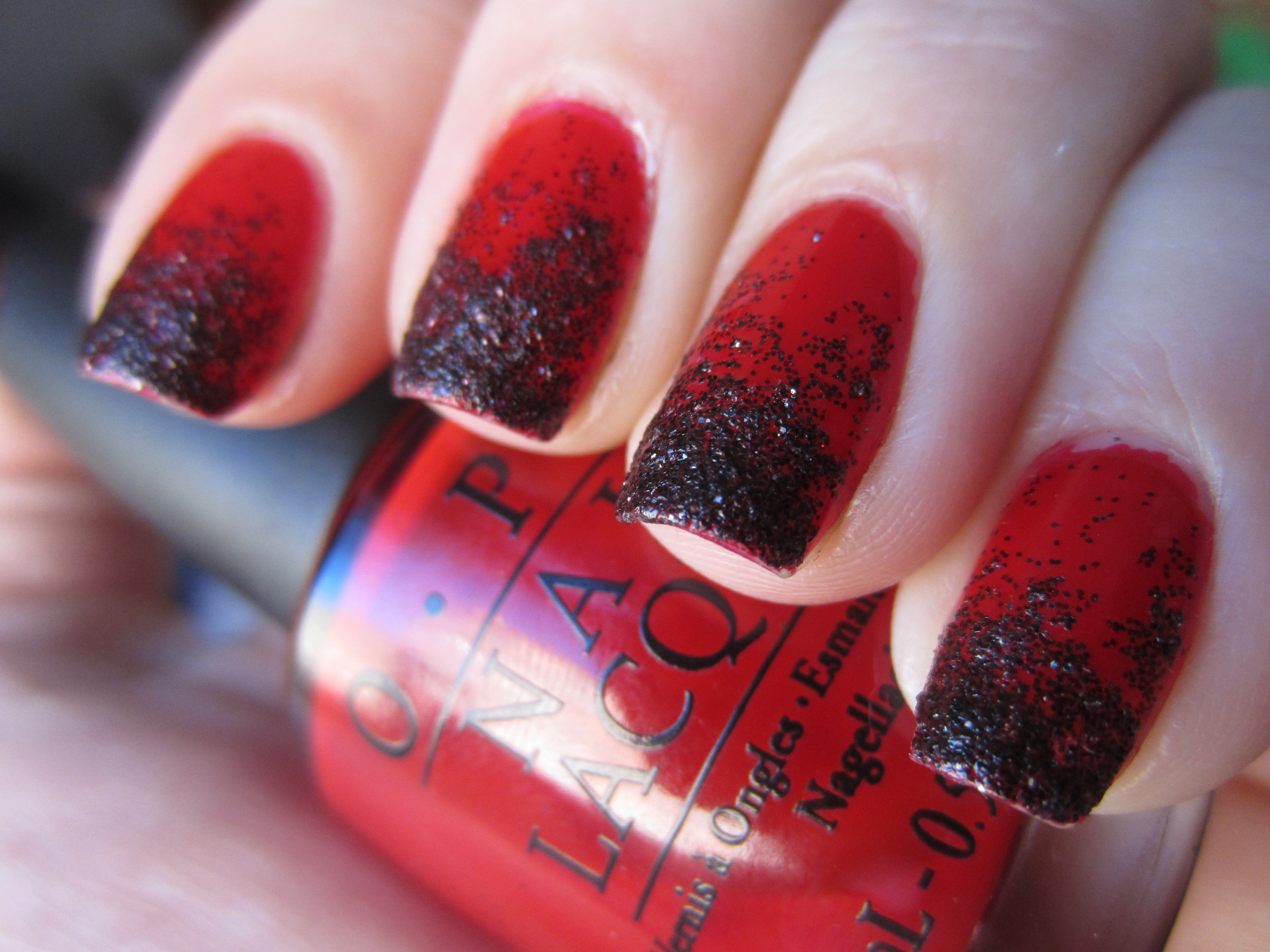 This is Halloween Nail Art Challenge: Gradient! | misshollyberries