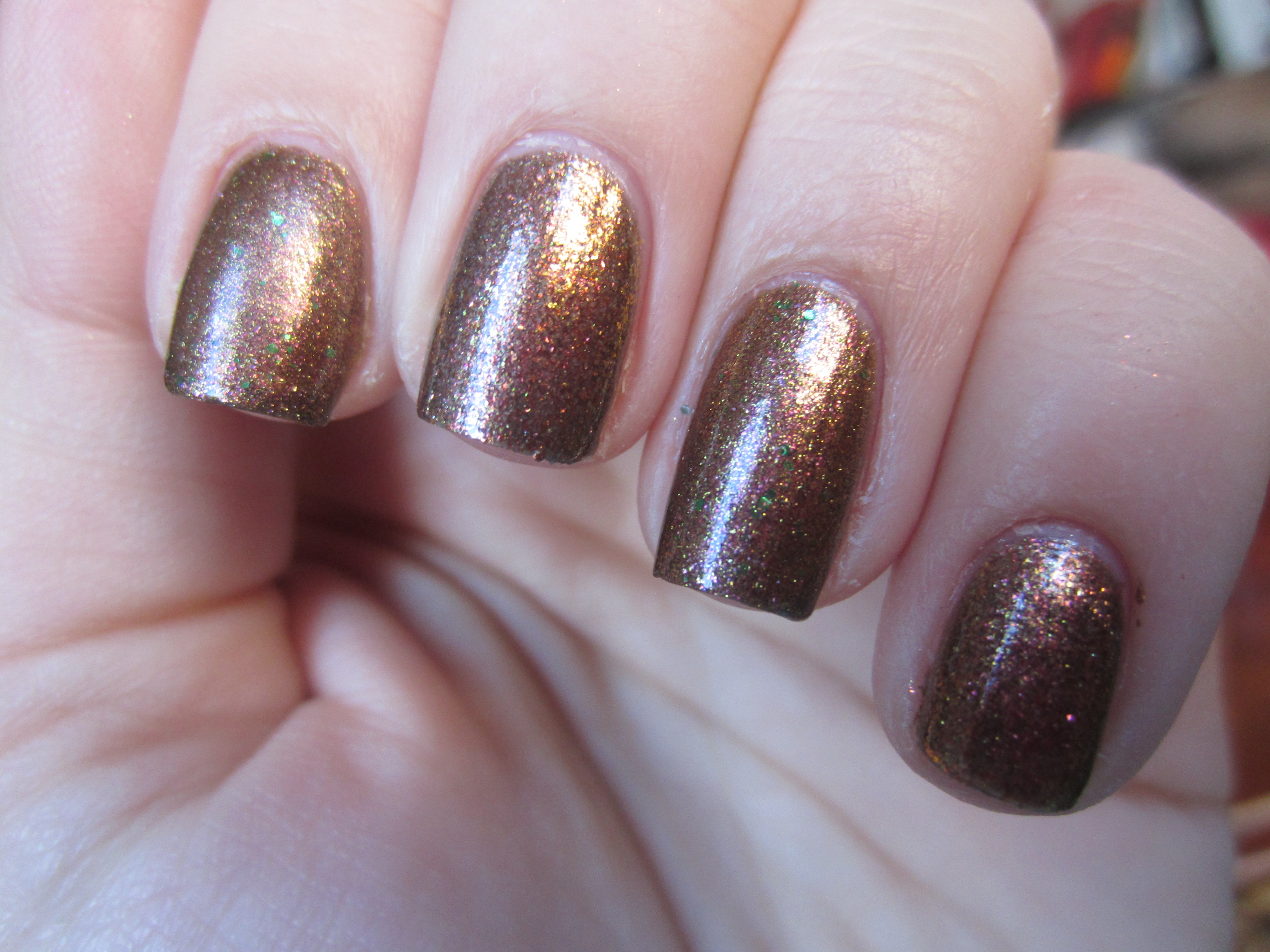 """Butter London """"Scuppered"""" vs. OPI """"Warm & Fozzie"""""""