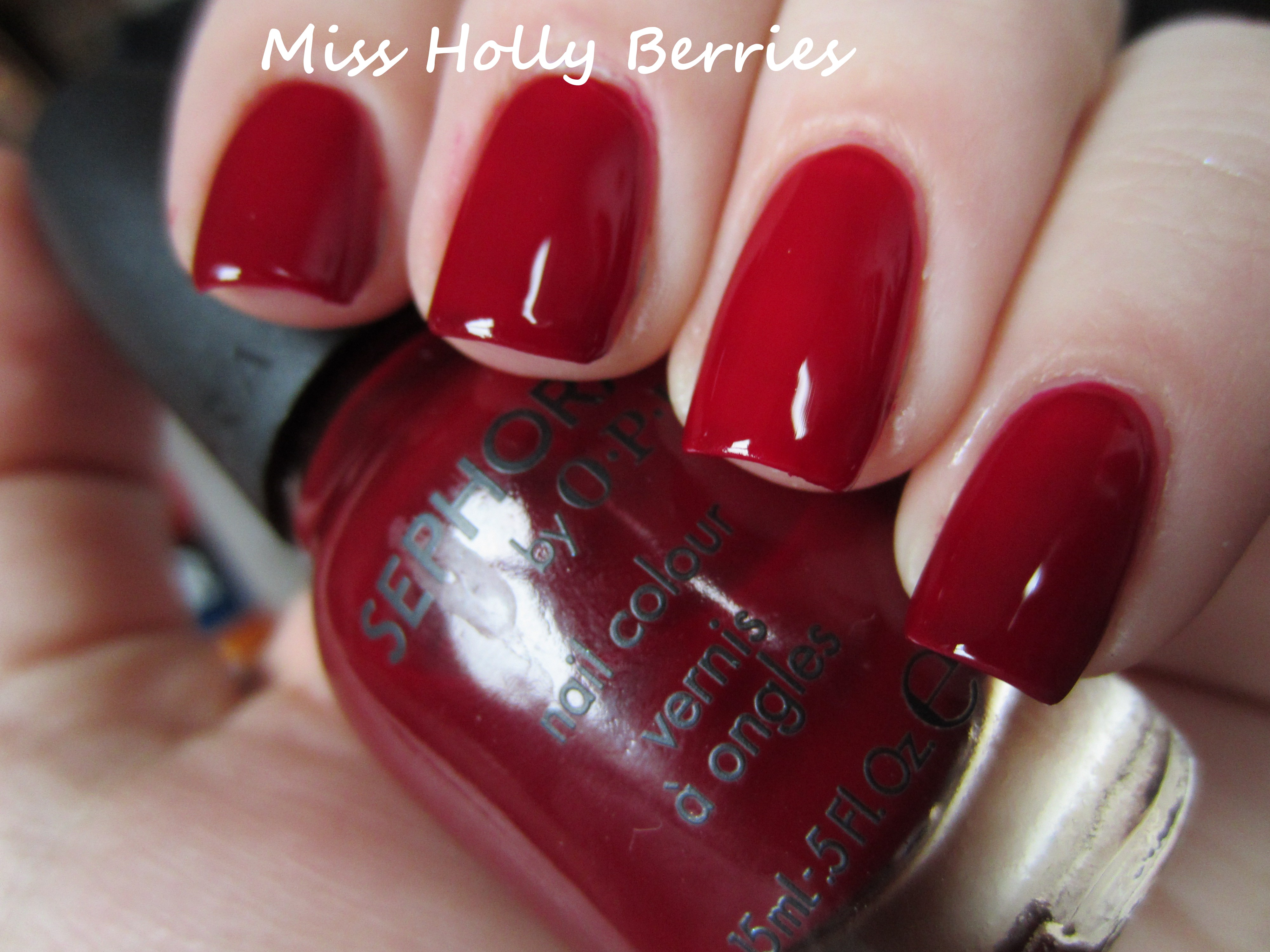 "Throwback Thursday! Sephora by OPI ""Mr. Right Now"" 