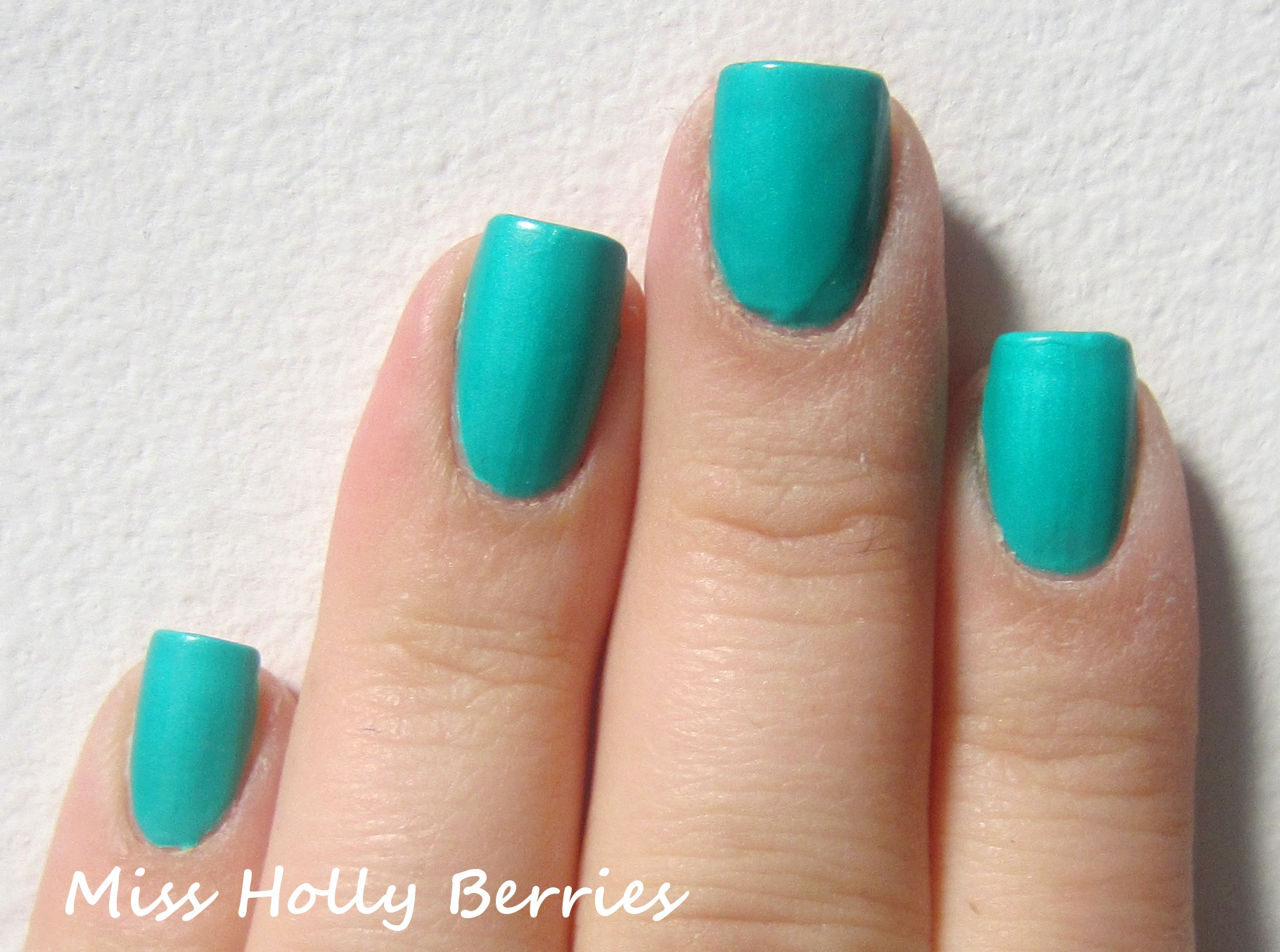 "China Glaze ""Turned Up Turquoise"" 