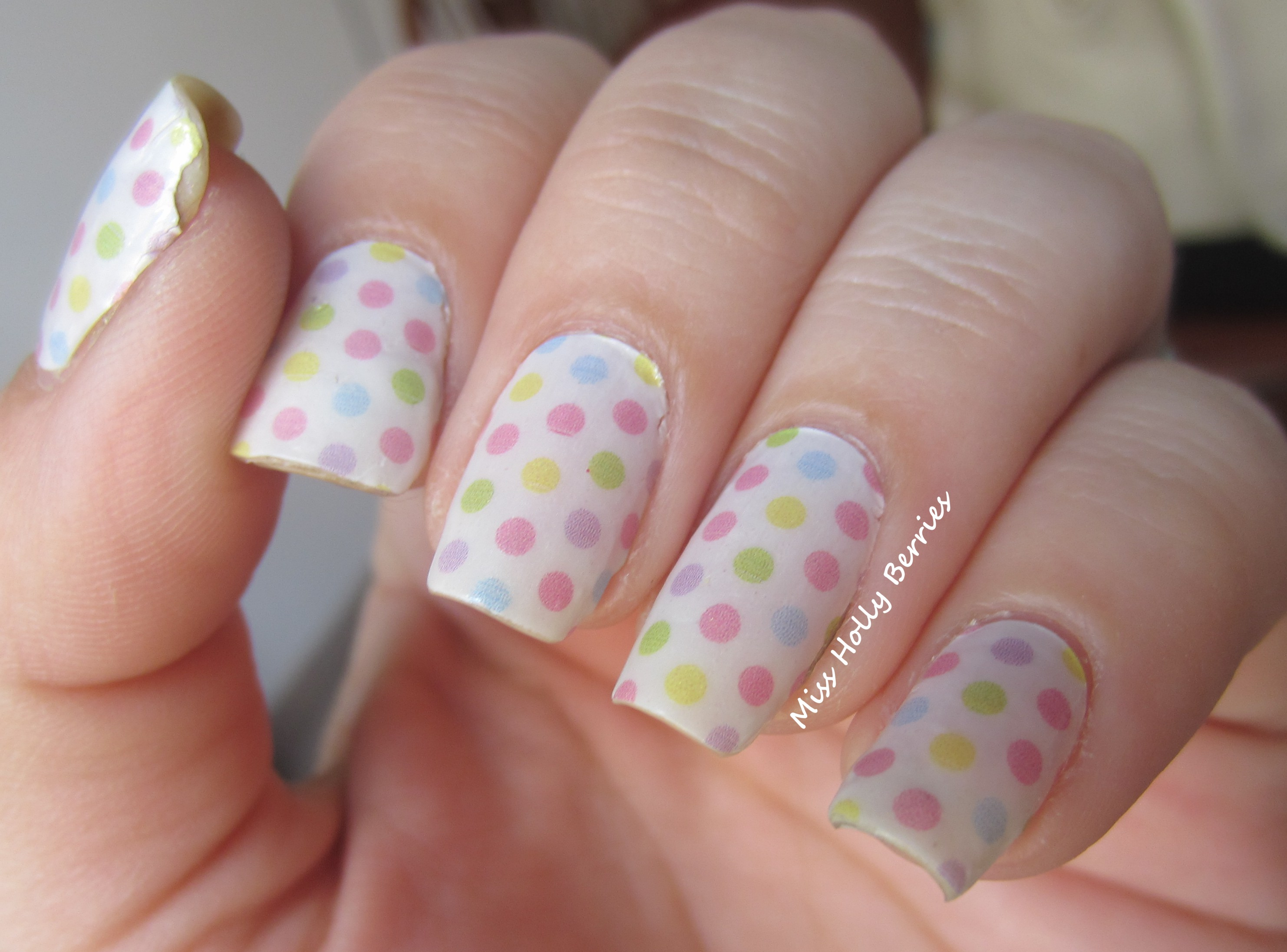 Incoco Nail Polish Applique Sweet Spots Review! | misshollyberries
