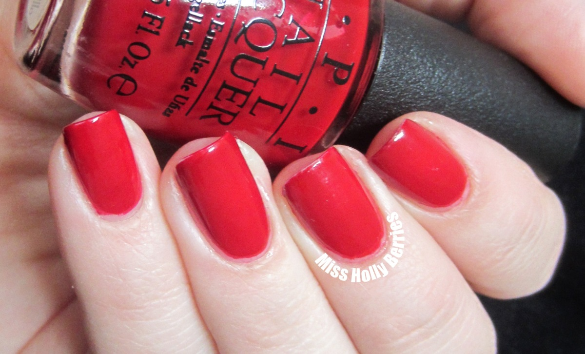 """OPI """"All I Want For Christmas (is OPI)"""" 