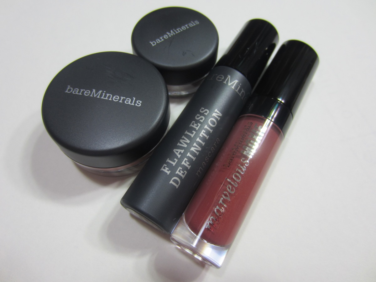 Bare Minerals 4-Piece Gift for Lips and Eyes!