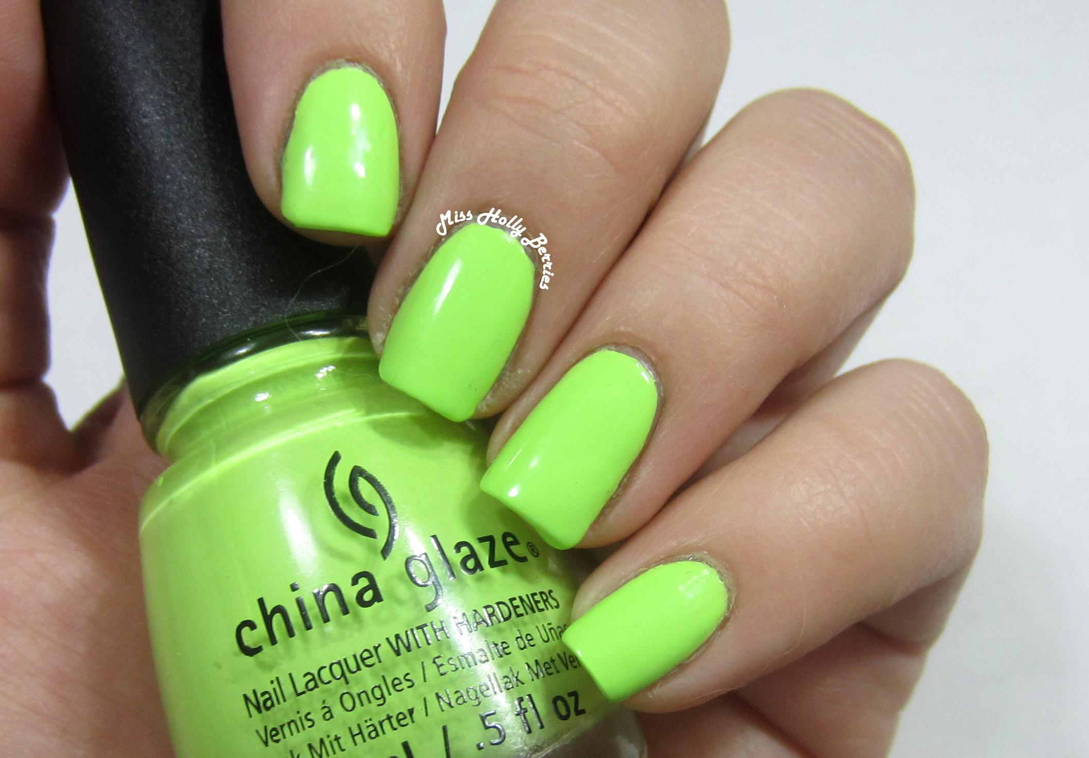 China glaze grass is lime greener misshollyberries seriously this polish is bright when i heard that china glaze was releasing yet another pastel spring nail polish collection i couldnt stop rolling my nvjuhfo Gallery