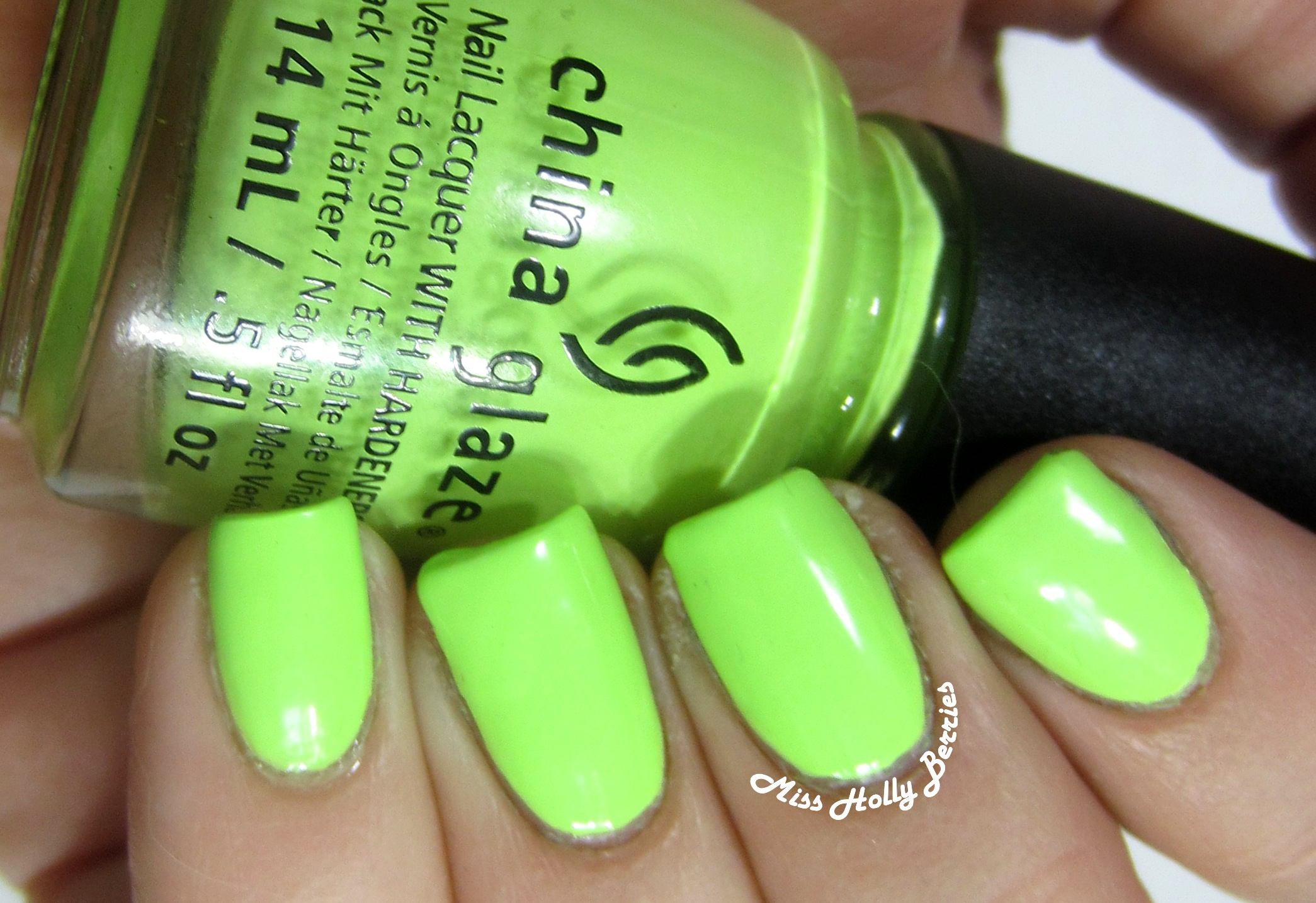 China glaze grass is lime greener misshollyberries china glaze grass is lime greener is a neon pastel light green yes im classifying this as neon it is a yellow toned light green that really glows on nvjuhfo Gallery
