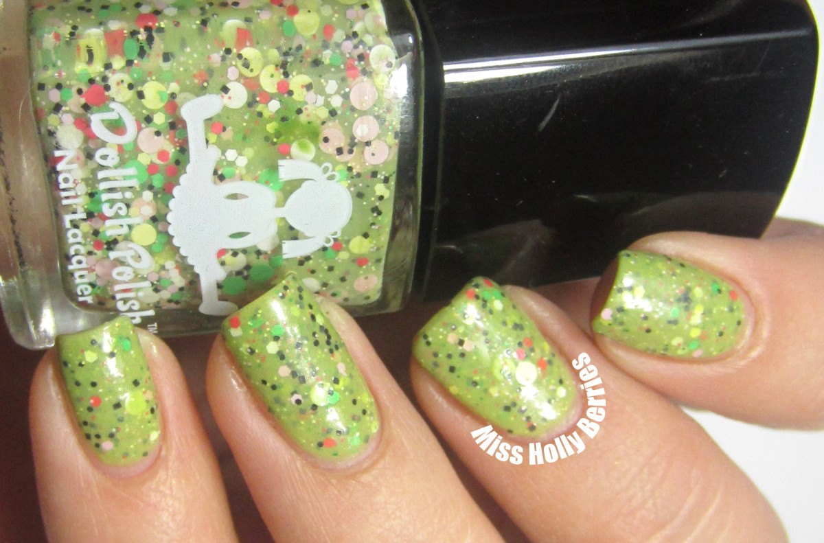 """Dollish Polish """"Look at the Flowers Lizzy"""""""